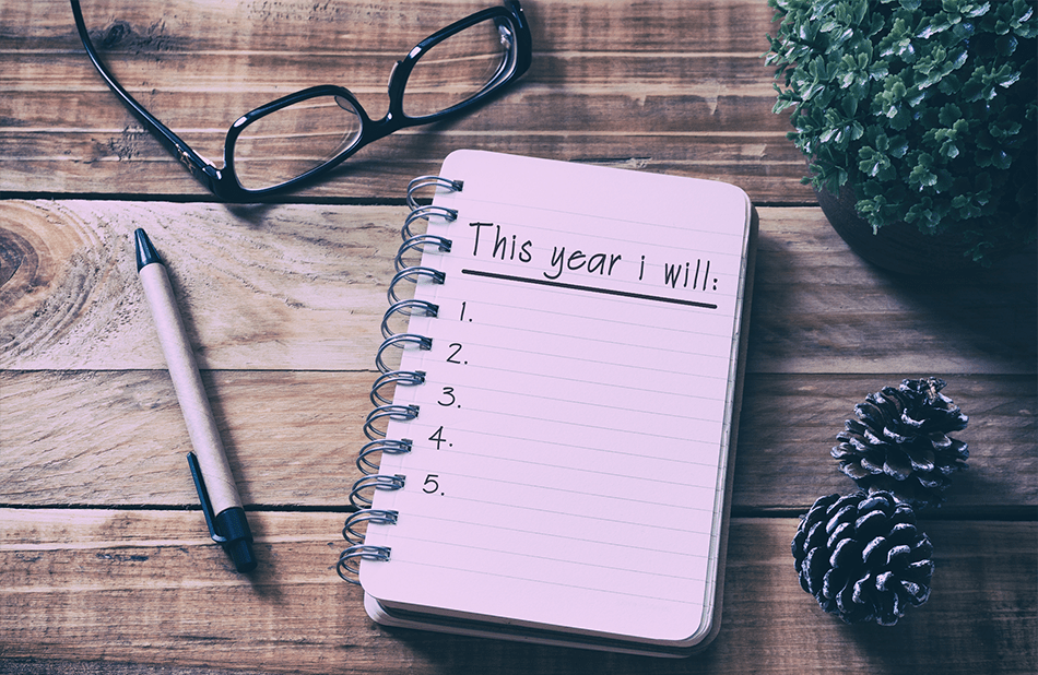 A Realistic New Year's Resolution