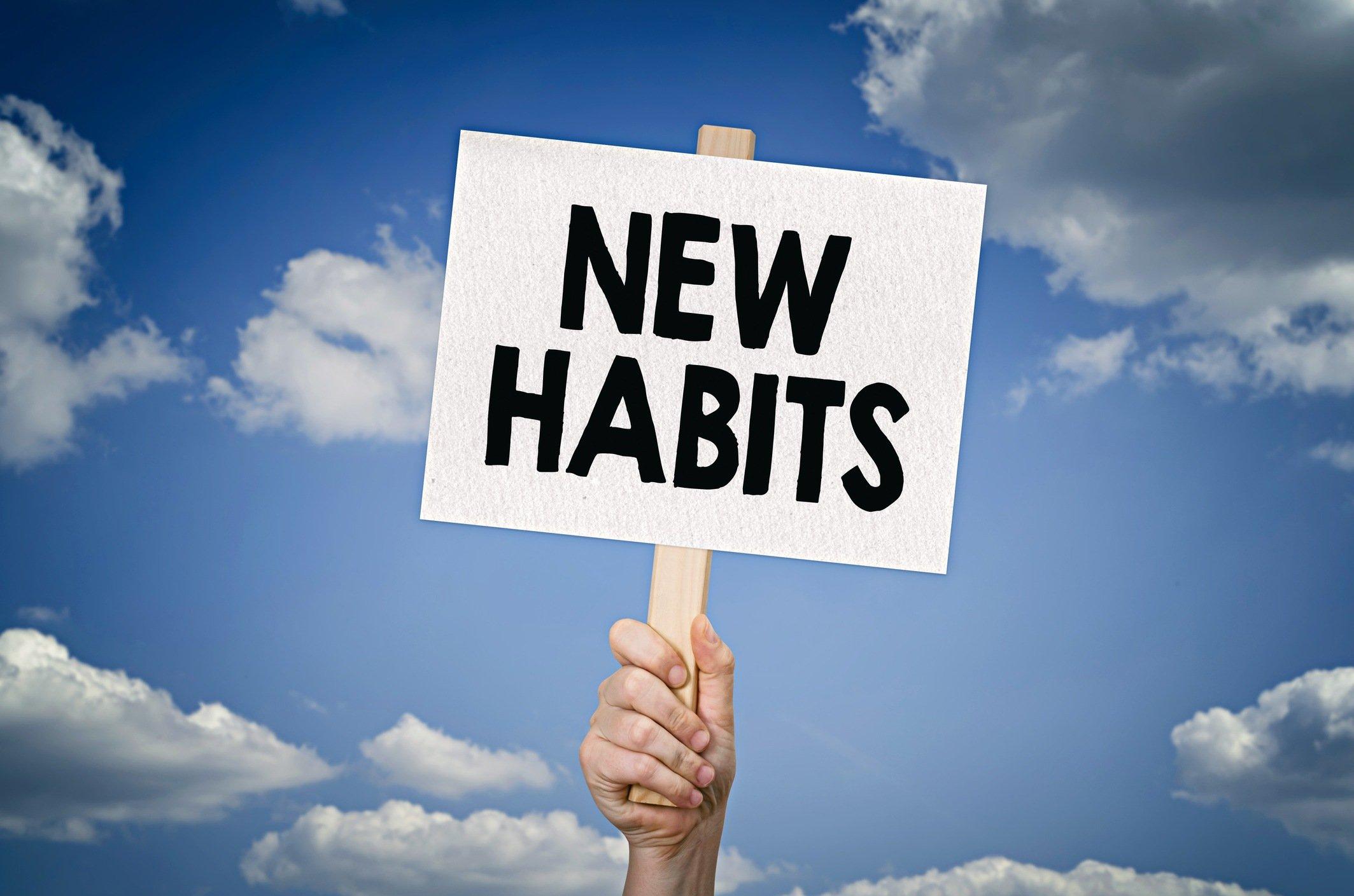 change your habits